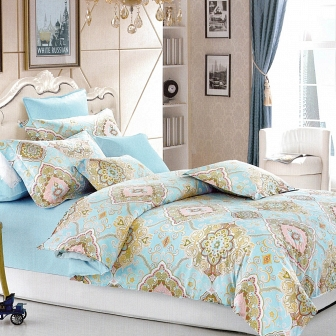 Ганди КПБ сатин 7Е Sofi de Marko Bedding Sets 7Е-3078