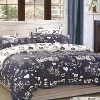 Love is КПБ сатин 7Е Sofi de Marko Bedding Sets