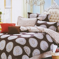 Отто (кофе) КПБ сатин 7Е Sofi de Marko Bedding Sets