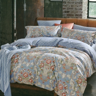 Атрия КПБ сатин 7Е Sofi de Marko Bedding Sets 7Е-3521