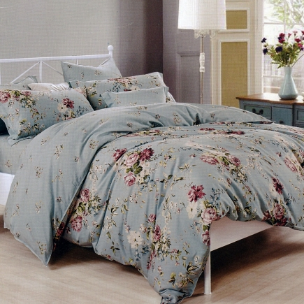 Амина КПБ сатин 7Е Sofi de Marko Bedding Sets 7Е-3921