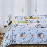 Андромеда (голубая) КПБ сатин 7Е Sofi de Marko Bedding Sets