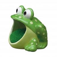 Держатель для губок/мочалок Boston Warehouse Kitchen Frog
