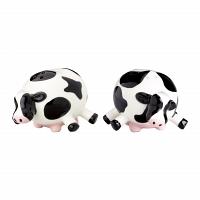 Набор солонка и перечница Boston Warehouse Kitchen Udderly Cows