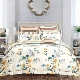 Комплект постельного белья Asabella Bedding Sets Евро 852-6