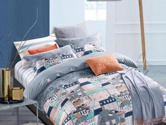 Комплект постельного белья Asabella Bedding Sets Евро 882-6
