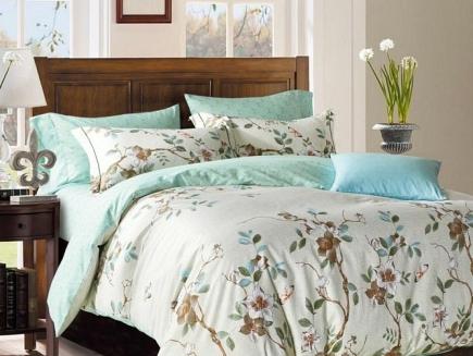 Комплект постельного белья Asabella Bedding Sets 1,5 спальный 884-4S