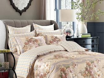 Комплект постельного белья Asabella Bedding Sets 1,5 спальный 894-4S