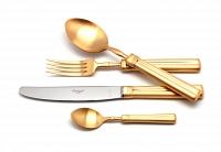 Матовый набор Cutipol Fontainebleau Gold 72пр.