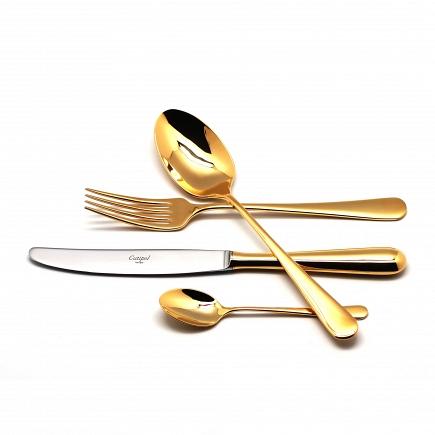 Набор Cutipol Alcantara Gold 24пр. 9291