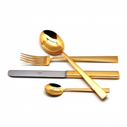 Набор Cutipol Bauhaus Gold 24пр. 9321