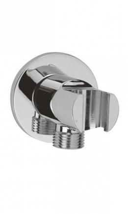 Подключение шланга WasserKRAFT Shower System с настенным держателем для лейки A022