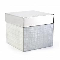 Косметическая емкость Kassatex Delano Silver