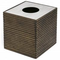 Бокс для салфеток (салфетница) Kassatex Rubber Wood (Eko)