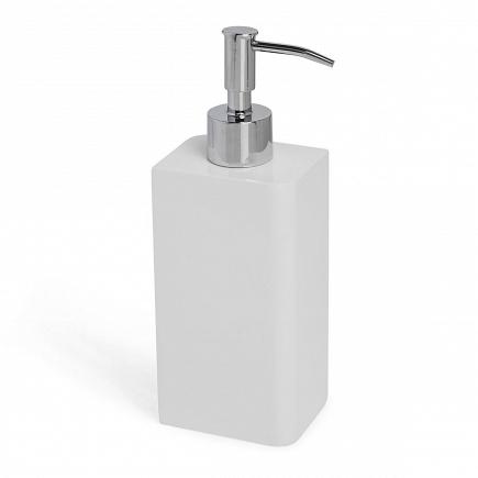 Дозатор для жидкого мыла Kassatex Lacca White ALA-LD-W