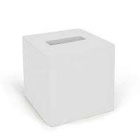 Бокс для салфеток (салфетница) Kassatex Lacca White