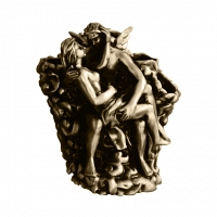 Подставка для зубных щеток Art&Max Romantic Бронза