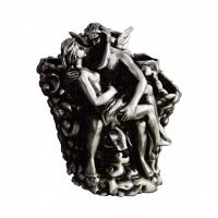 Подставка для зубных щеток Art&Max Romantic Серебро