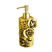 Дозатор мыла Art&Max Rose Золото