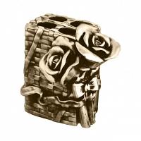 Подставка для зубных щеток Art&Max Rose Бронза