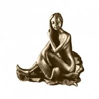 Крючок Art&Max Juno Бронза