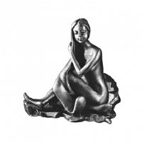 Крючок Art&Max Juno Серебро