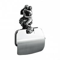 Держатель для туалетной бумаги Art&Max Romantic Серебро