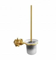 Щётка для унитаза Art&Max Rose Золото