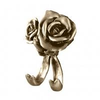 Крючок двойной Art&Max Rose Бронза