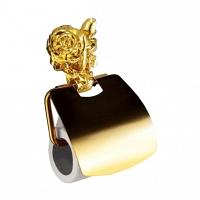 Держатель для туалетной бумаги Art&Max Rose Золото