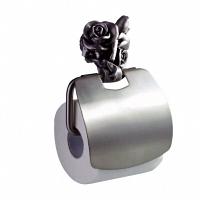 Держатель для туалетной бумаги Art&Max Rose Серебро