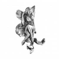 Крючок Art&Max Fairy Серебро