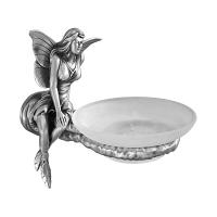 Мыльница Art&Max Fairy Серебро