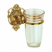 Стакан подвесной Art&Max Impero Античное золото