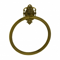 Полотенцедержатель кольцо Art&Max Impero Бронза