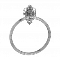 Полотенцедержатель кольцо Art&Max Impero Хром