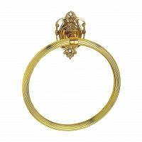Полотенцедержатель кольцо Art&Max Impero Золото