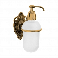 Дозатор для мыла подвесной Art&Max Impero Золото