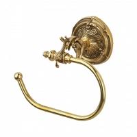 Держатель для туалетной бумаги Art&Max Barocco Античное золото