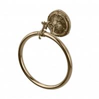 Полотенцедержатель кольцо Art&Max Barocco Бронза