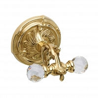 Крючок Art&Max Barocco Crystal Античное золото
