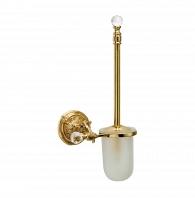 Держатель щетки подвесной Art&Max Barocco Crystal Античное золото