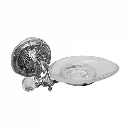 Мыльница подвесная Art&Max Barocco Crystal Хром AM-1786-Cr-C