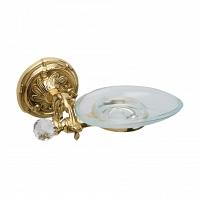 Мыльница подвесная Art&Max Barocco Crystal Античное золото