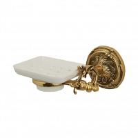 Мыльница подвесная Art&Max Barocco Античное золото