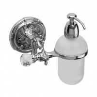 Дозатор для мыла подвесной Art&Max Barocco Crystal Хром