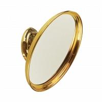 Увеличительное зеркало подвесное Art&Max Barocco Античное золото