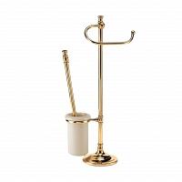 Стойка напольная для унитаза и биде Art&Max Barocco Античное золото