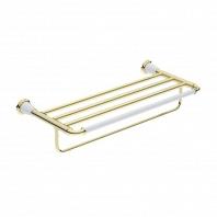 Полка для полотенец Art&Max Bianchi золото 61см