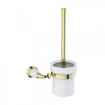 Щетка для унитаза Art&Max Bianchi золото AM-3681AW-Do